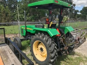 John Deere 5103 Tractor Low Hours can Ship