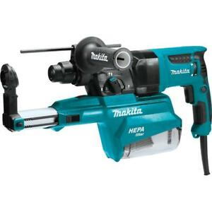 Makita Hr2651 1 Avt Sds plus Rotary Hammer W Hepa Dust Extractor