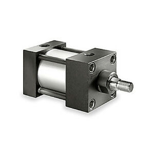 dayton Air Cylinder Pneumatic Large Bore Piston 6x386 2 5 Bore 1 Stroke