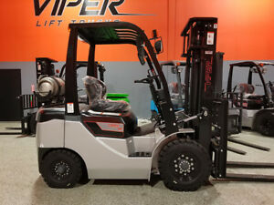 2019 Fy25 5000lb Air Pneumatic Forklift Lift Truck Hi Lo 86 130