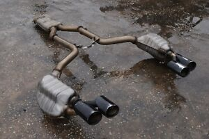 12 15 W204 Mercedes C63 Amg Coupe Muffler Exhaust Cat Back Complete System