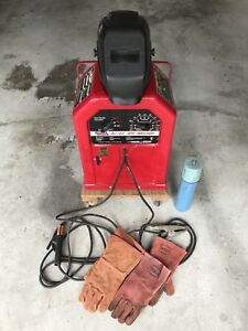 Lincoln Electric Arc Welder 225 125 Ac dc
