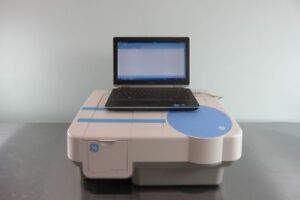 Ge Ultrospec 8000 Double beam Uv Visible Spectrophotometer With Laptop