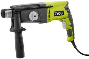 Sds Rotary Hammer Drill Keyless Chuck Second Handle Included Variable Speed