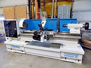Clausing Colchester Lathe 18 28 X 60 Gap Bed Variable speed