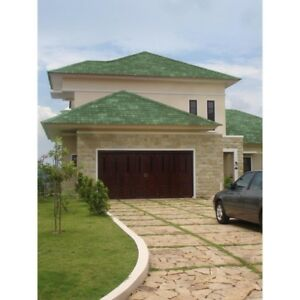 Onduvilla Roof Shingles Green Asphalt Forest Roofing Shingle Home Architectural