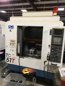 Used Yci Supermax Tcv 51t Cnc Vertical Drill Tap Machining Center Mill Fanuc 02