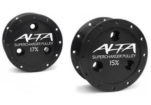 Alta 15 V2 Supercharger Pulley 02 08 Mini Cooper 1 6l Supercharged R52 R53