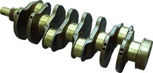 Re54883 Crankshaft For John Deere 440g 490e Industrial Construction Tractors