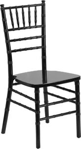 Black Wood Chiavari Chair Special Events And Weddings