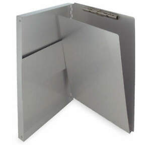 Saunders Storage Clipboard legal Sz metal silver 10519 Silver