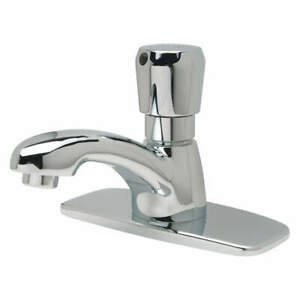 Zurn Bathroom Faucet push 2 3 4 In H Z86100 xl cp4 3m