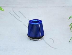 4 Blue Short Ram High Flow Mesh Replacement Air Intake Cone Filter