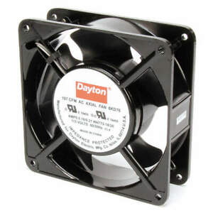 Dayton Axial Fan 115vac 4 11 16in H 4 11 16in W 6kd76