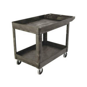Rubbermaid Utility Cart 500 Lb Load Cap Fg452089bla