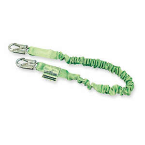 Honeywell Miller Shock absorbing Lanyard 6 Ft 310 Lb 216m z7 6ftgn Green