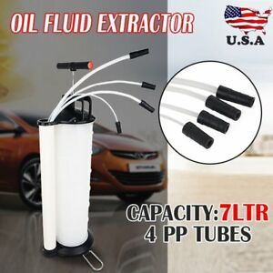 170psi Vacuum Oil Fluid Extractor 7l Manual Fuel Petrol Syphon Pump Transfer Ur