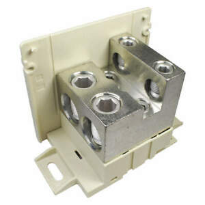 Burndy Power Distribution Block 4 Awg To 500mcm Bdblcs6ra