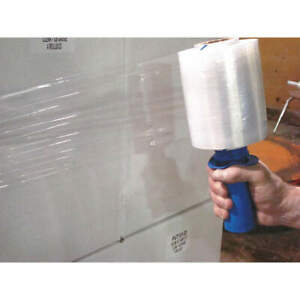 Grainger Approved Stretch Wrap clear 650 Ft L 5 W pk12 36tv24 Clear