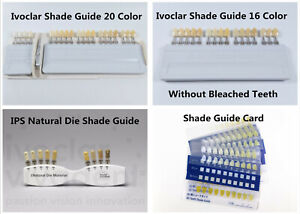 Dental Shade Guide A d 16 Color Porcelain Teeth Guide 100 Ivoclar Vivadent Vita