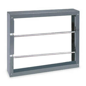 Durham Steel Rod Storage Rack 21 1 2 H 26 1 8 W 6 d 384 95 Gray