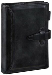 Reimeifujii stationery personal Organizer Note Book Black Db3014b