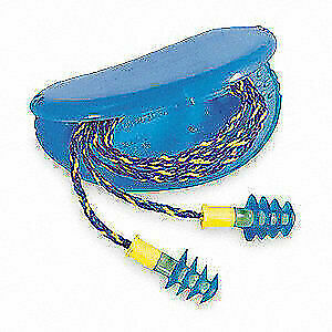 Honeywell Howard Leight Ear Plugs corded flanged 27db pk100 Fus30 hp
