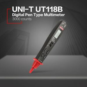 Uni t Mini Digital Pen Type Multimeter Ac dc Volt Amp Ohm Capacitance Test Vw