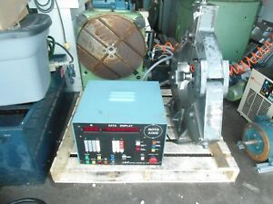 Walter Rtw500 4th Axis Rotary Table Cnc Indexer 19 5 With J p Control