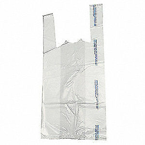 Grainger Approved Carry Out Bags standard open pk500 5dut4 White