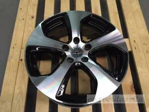 17 Austin Style Wheels Rims Fits Vw Volkswagen Gti Mk5 Mk6 Mk7 Black Machine