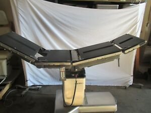 Surgical Operating Table Steris Amsco Model 3080sp With New Batteries Pre Owned