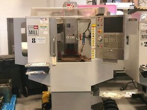 Haas Super Mini Mill Vertical Machining Center 2007 2 Available