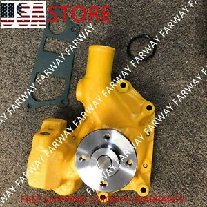 6204 61 1204 Water Pump For Komatsu Pc60 5 Pc60 6 Pc60 7 Pc75uu 4d95 4 Hose