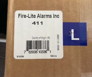 Fire Alarm Fire lite Alarms 411 New