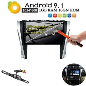 Quad Core Android 9 1 Hd Gps Dvd For Toyota Camry 2012 2013 2014 Radio Wifi Bt