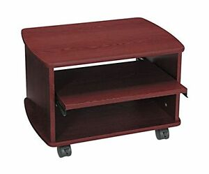 Safco Products 1954mh Picco Duo Printer fax Machine Stand Mahogany