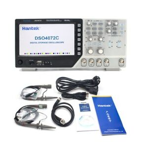 Oscilloscope 2 Ch 70mhz Digital Portable Lcd Diagnostic tool 1gsa s Sample Rate