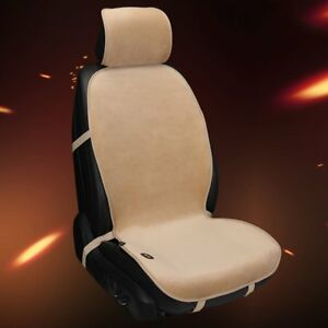 Warm Velvet Heating Car Seat Cover Universal 12v Winter Vehicle Seat Cover Qw