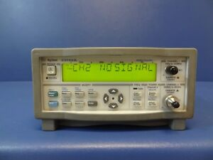 Agilent keysight 53152a 46ghz Microwave Frequency Counter Power Meter