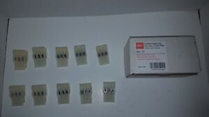 Lot Of 10 Cutler hammer Terminal Block Moveable Tubular Clamp Style 3p C381pm