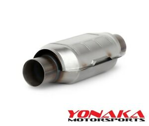 Yonaka Universal 2 25 High Flow Performance Catalytic Cat Converter Ceramic Core