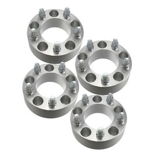 4 38mm Wheel Adapters 5x4 5 To 5x5 5 1 5 Inch Thick 1 2 Studs Spacer