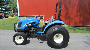 2005 New Holland Tc35da 4x4 Compact Utility Tractor 35 Hp Diesel Hydrostatic