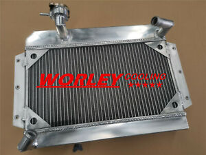 Aluminum Radiator For Rover Mg Mga 1500 1600 1622 De Luxe 55 62 1961 1962