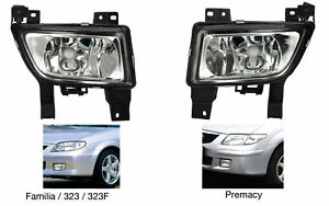 Fog Lights Mazda 323 F Familia 1998 1999 2000 2001 2002 2003 2004 Premacy Pair