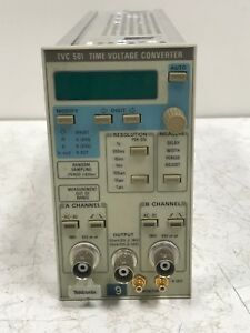 Tektronix Tvc 501 Time voltage Converter Tvc501