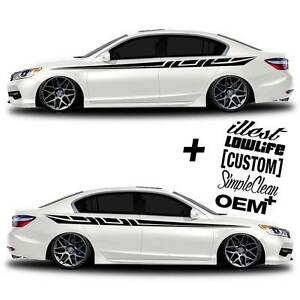 Vinyl Body Graphics Stripes Car Truck Sticker Decal 226 5 Decals Jdm Euro Race