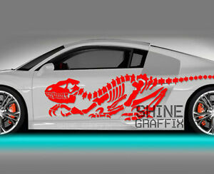Vinyl Body Graphics Dinosaur Car Sticker Decal 283 Jdm Euro Import Racing