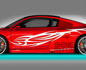 Vinyl Body Graphics Tribal Car Truck Sticker Decal 047 Jdm Euro Import Racing